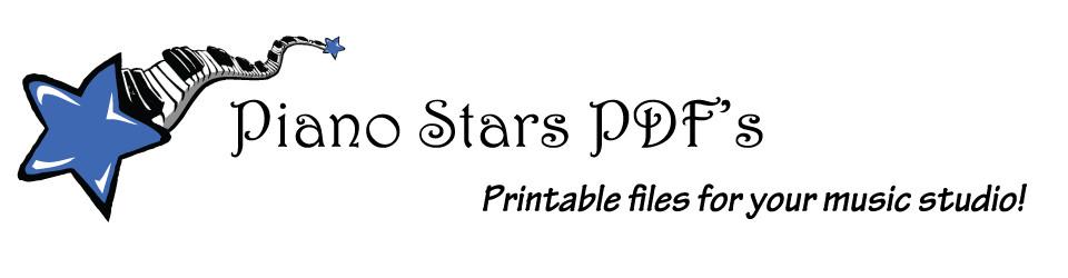 Piano Stars PDF's