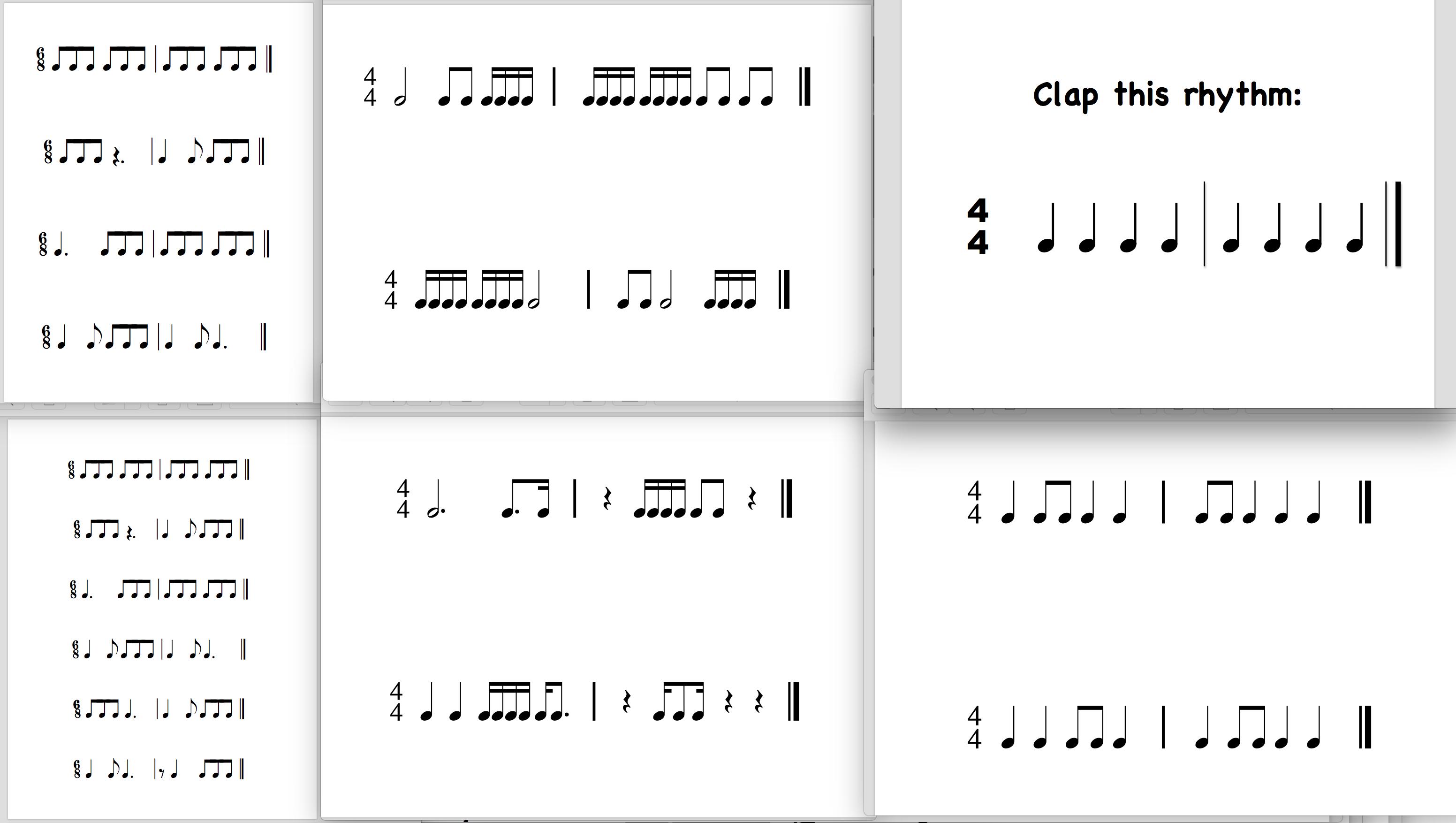 Rhythm Sheets | Piano Stars PDF's