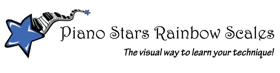 Piano Stars Rainbow Scales
